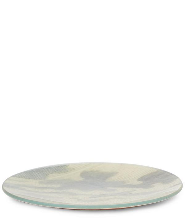 Bison Cloud Round Plate