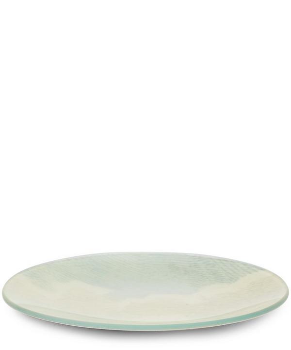 Dog Cloud Round Plate