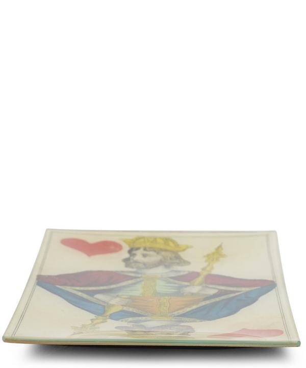 King of Hearts Rectangular Tray