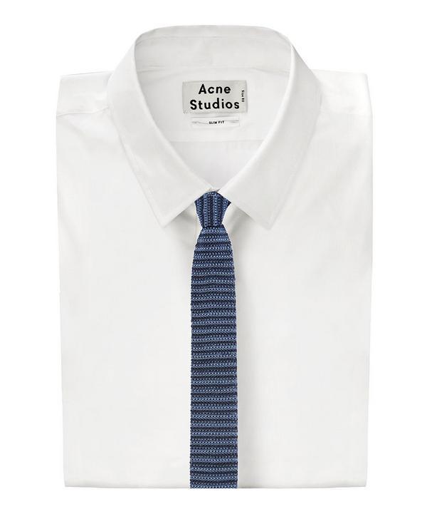 Melange Club Stripe Tie