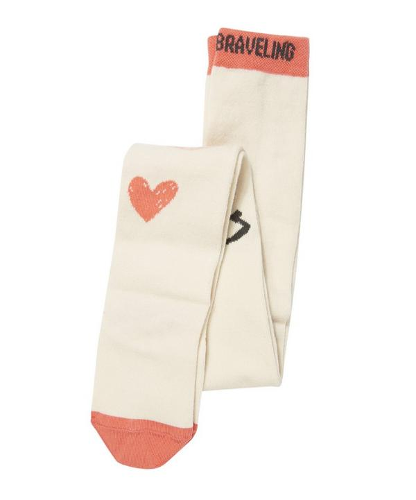 Queen of Hearts Tights 2-3Y