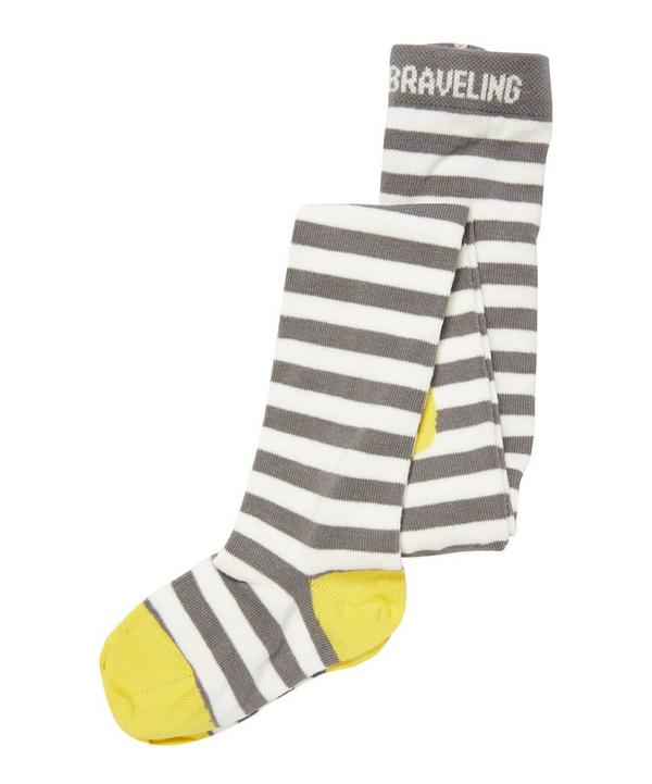 Sunshine Stripe Tights 3-4Y