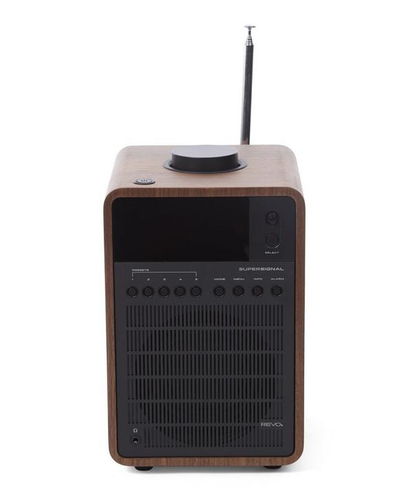 SuperSignal Walnut Radio