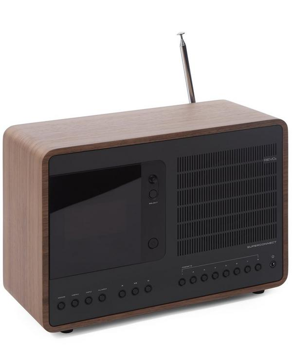 SuperConnect Walnut Radio