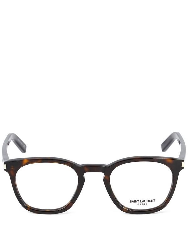 Dark Tortoise Square Glasses