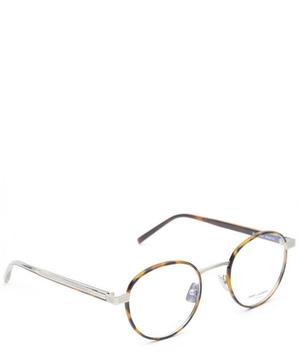 125-002 Tortoise Round Glasses