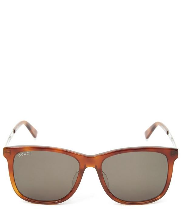 Light Tortoise Wayfarer Sunglasses