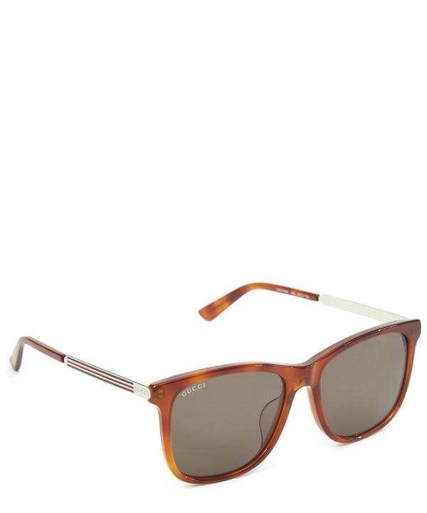 Light Tortoise Wayfarer Sunglasses