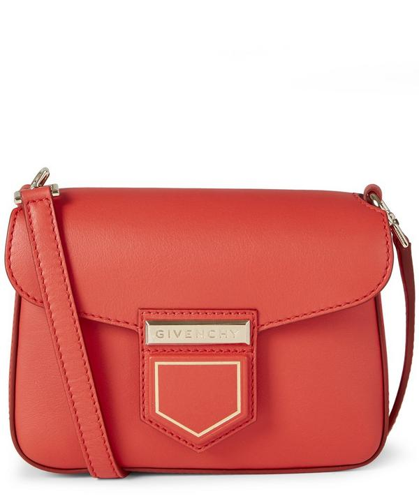 Mini Nobile Leather Crossbody Bag