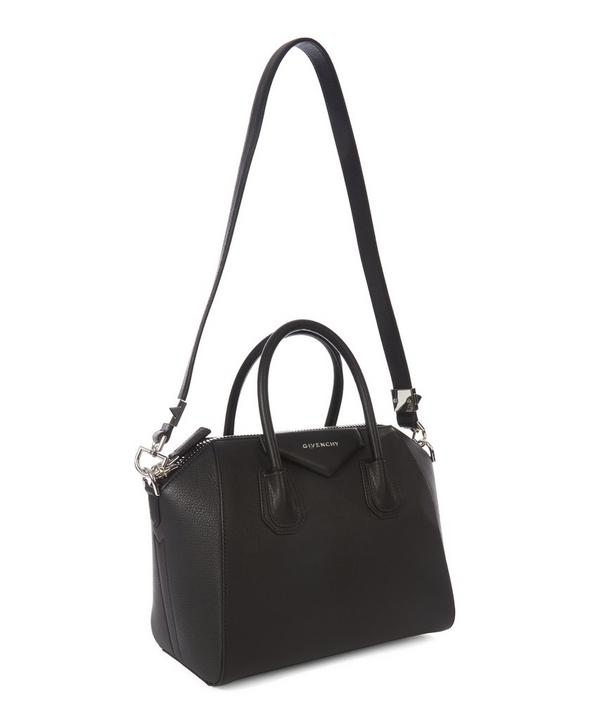 Antigona Medium Sugar Leather Tote Bag