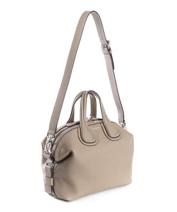 Nightingale Waxy Leather Medium Tote Bag