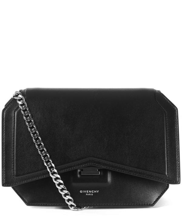 Givenchy Bow Cut Smooth Leather Cross Body Bag