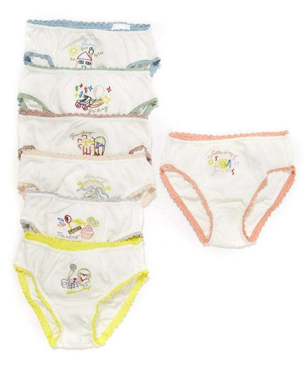 Peonie Weekday Underwear Set