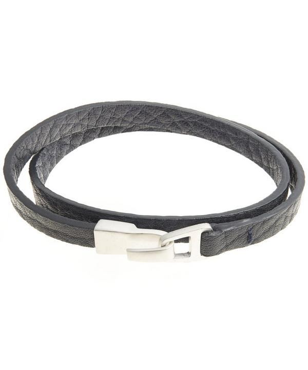 Small Hook Leather Bracelet