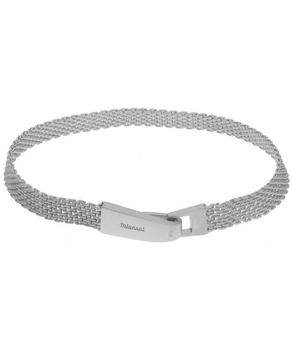 Mesh Chain Wrap Bracelet