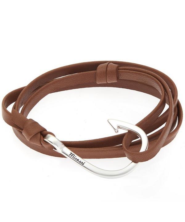 Hook Leather Bracelet