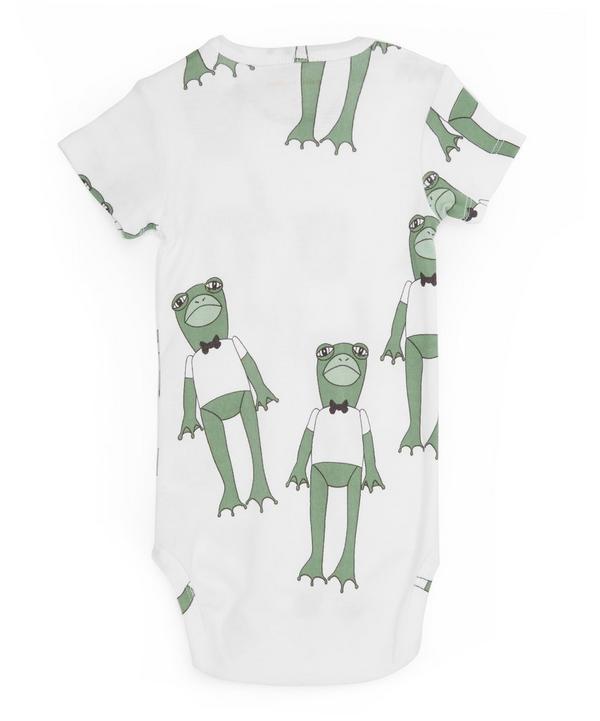 Short Sleeved Frog Print Body