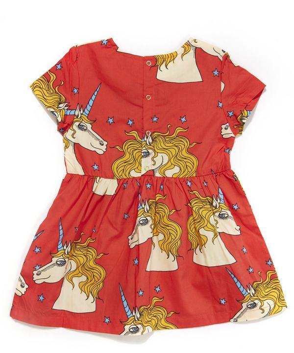 Unicorn Star Woven Dress