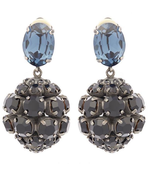 Cluster Gem Earrings