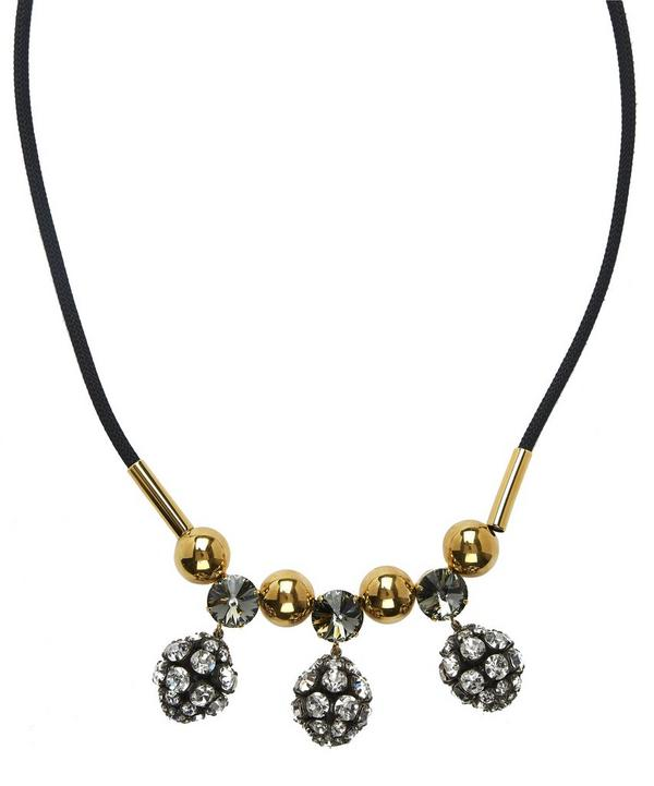 Variable Length Crystal Cluster Necklace