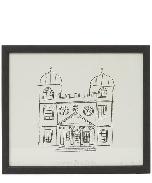 Design For a Folly Framed Print