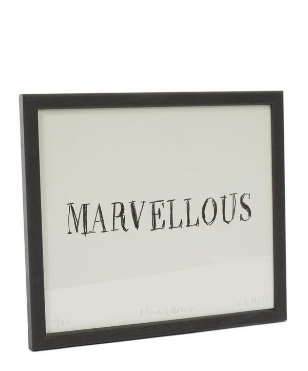 Marvellous Framed Print