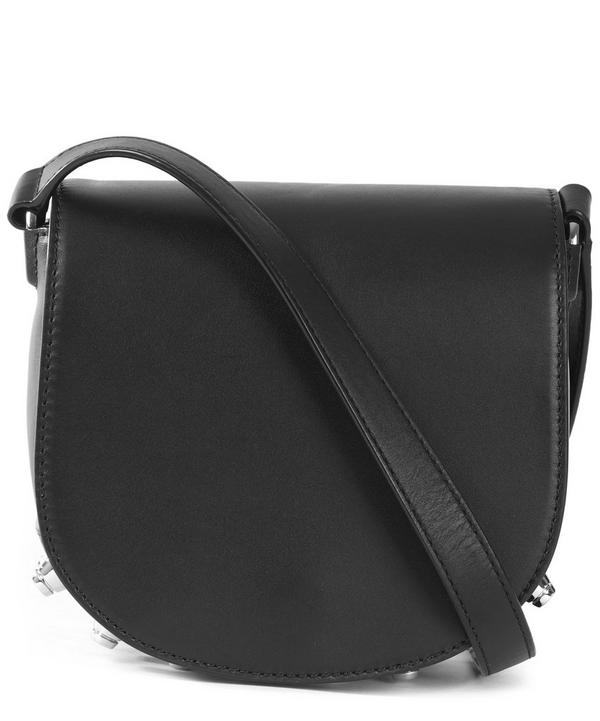 Mini Lia Studded Saddle Bag