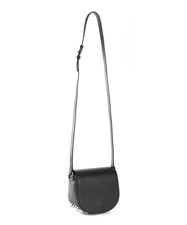 Mini Lia Studded Saddle Bag