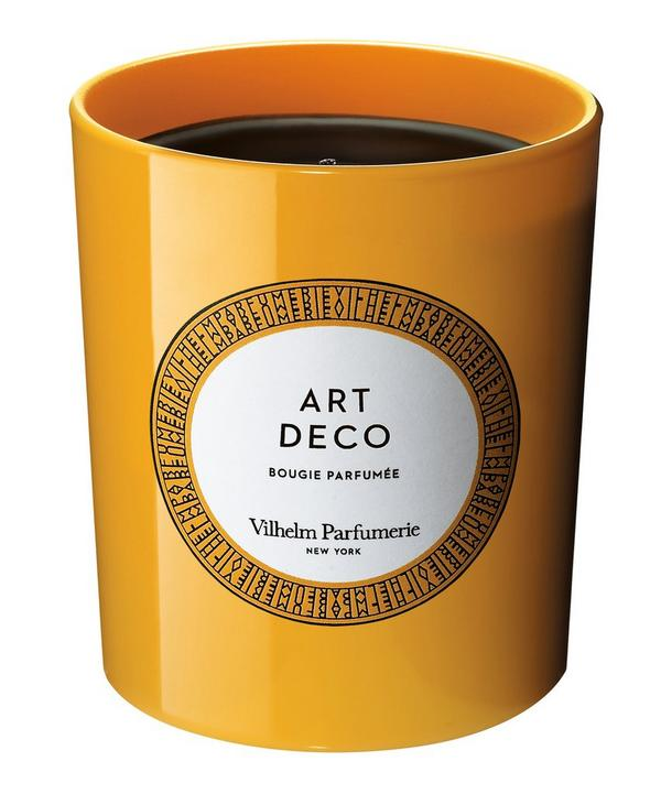 Art Deco Candle