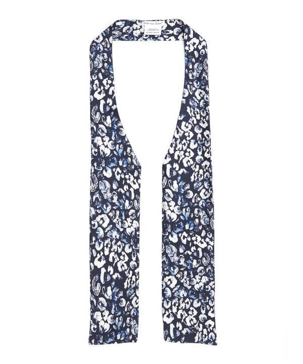 Trixie Leopard Print Silk Cravat