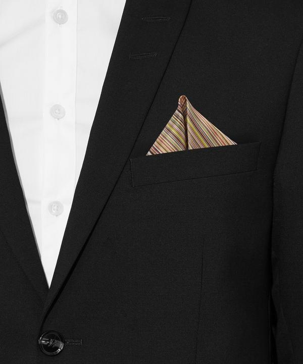 Multi Stripe Pocket Square