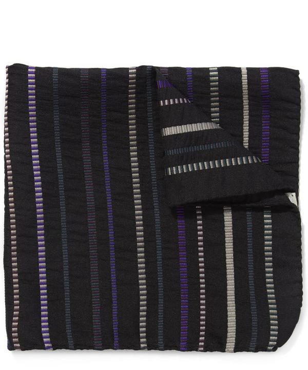 Textured Stripe Pocket Square