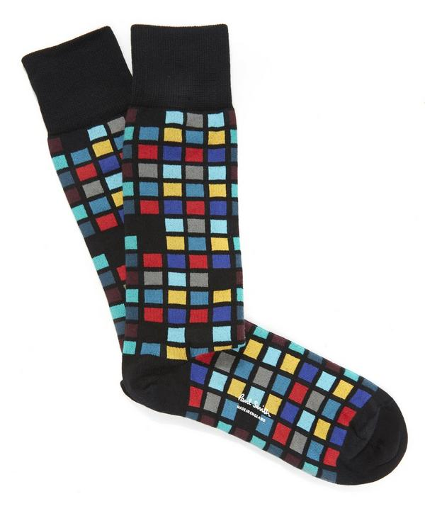 Bright Tile Socks
