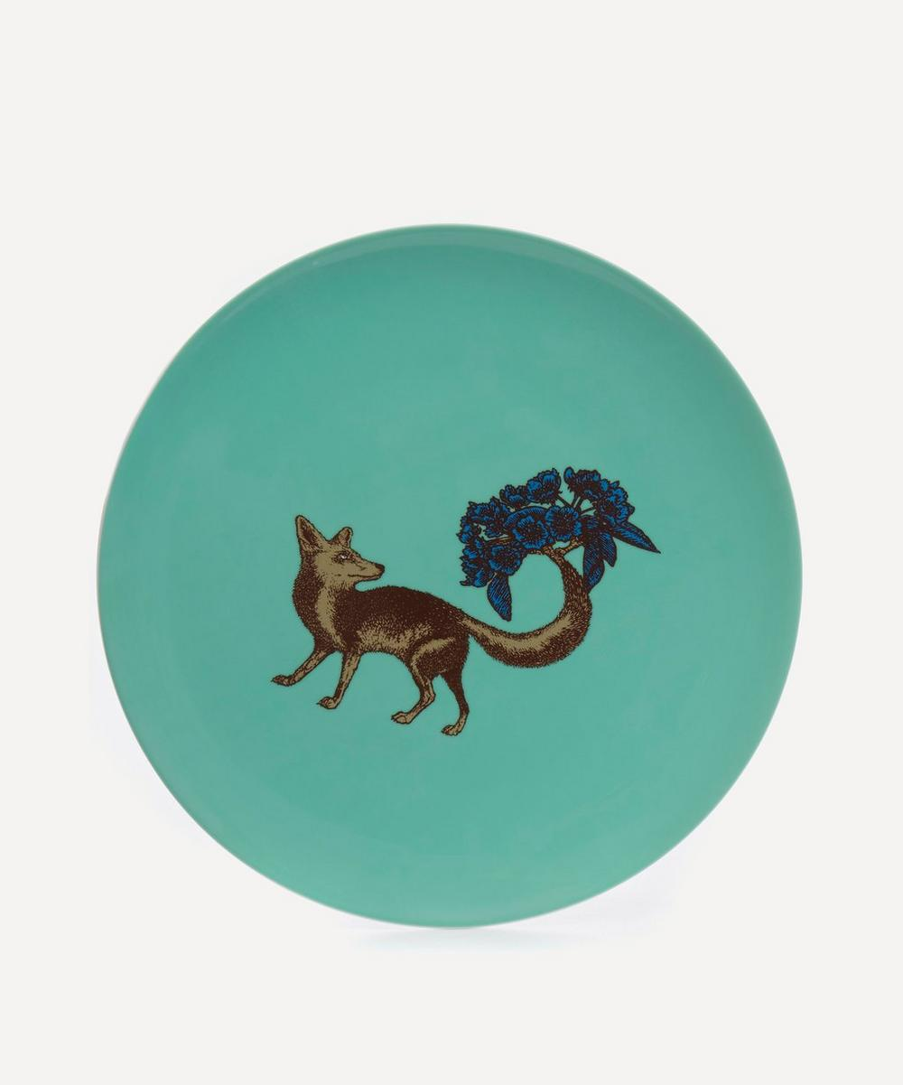 Fox Large Plate