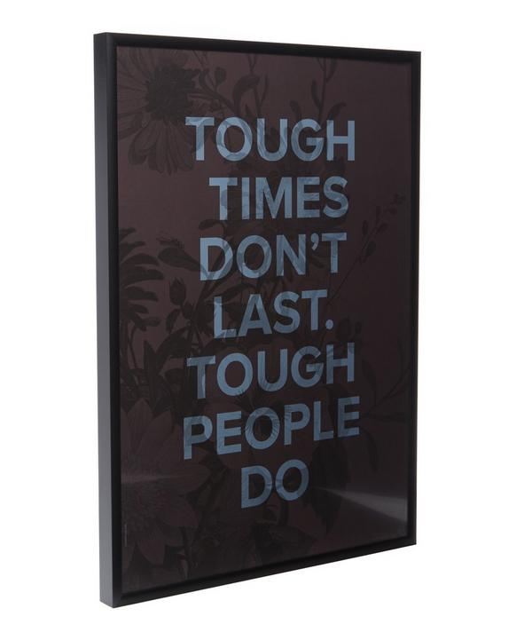 Tough People Framed Print