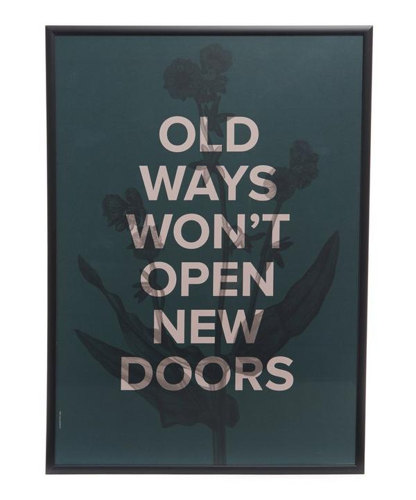 New Doors Framed Print