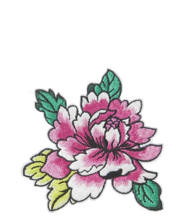 Embroidered Flower 1 Sticker Patch