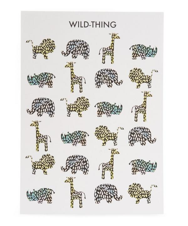 Children's Wild Thing Print