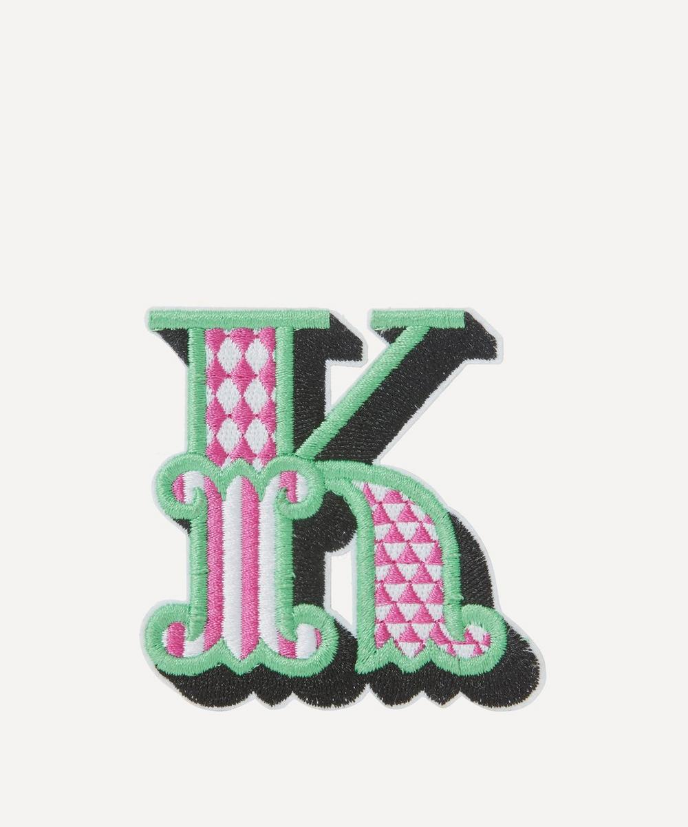 Embroidered Sticker Patch in K