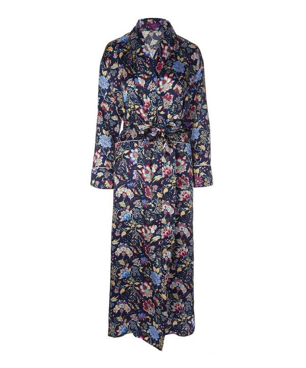 Christelle Long Silk Robe