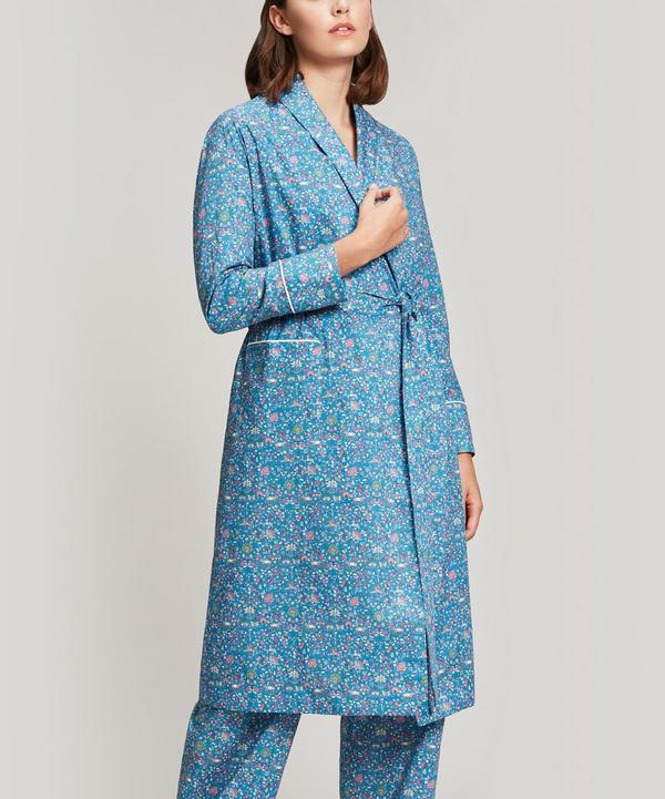Imran Long Cotton Robe