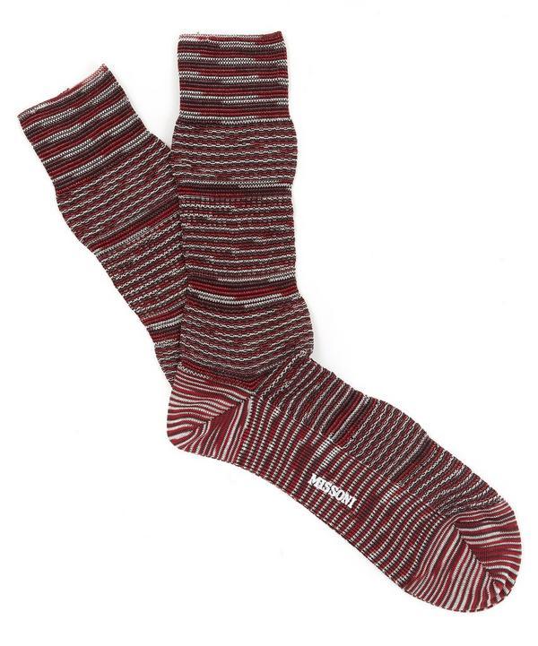 Melange Knitted Socks