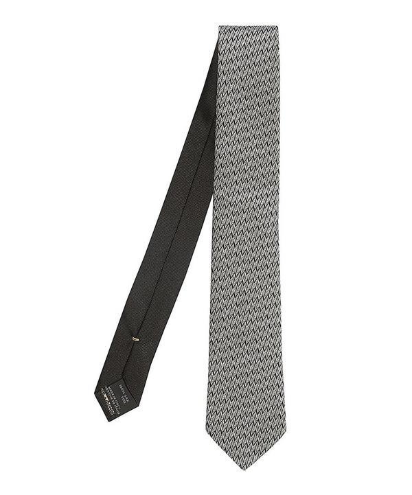 Horizontal Zig Zag Tie