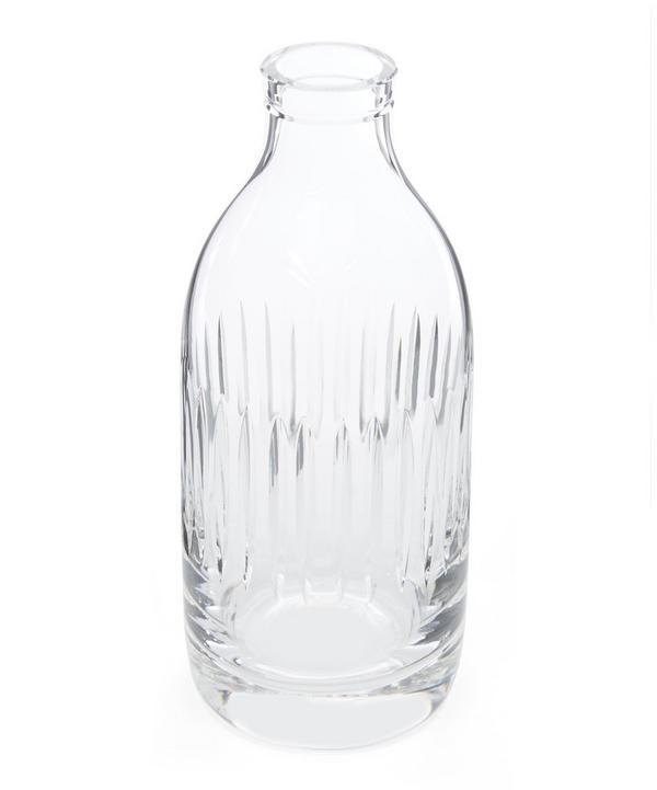 Crystal Stripe Milk Bottle Vase