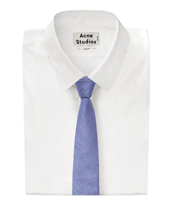 Shantung Textured Fleck Tie