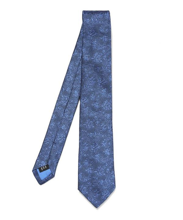 Clematic Floral Tie