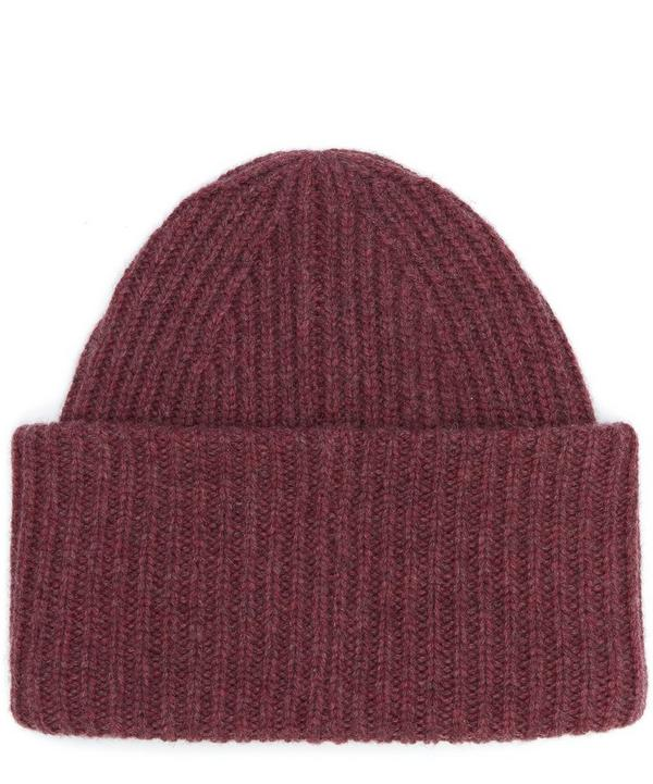 Pansy Wool Beanie