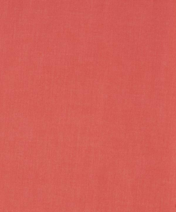 Orange/ Red Plain Tana Lawn Cotton