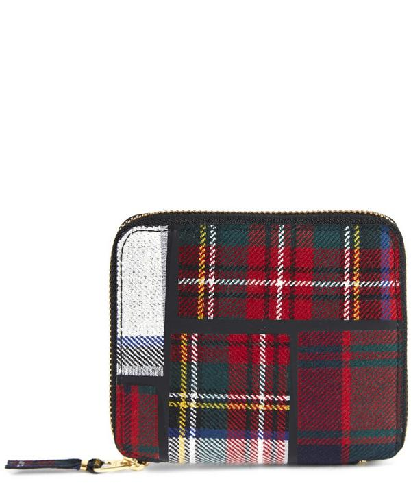 Tartan Full Zip Wallet