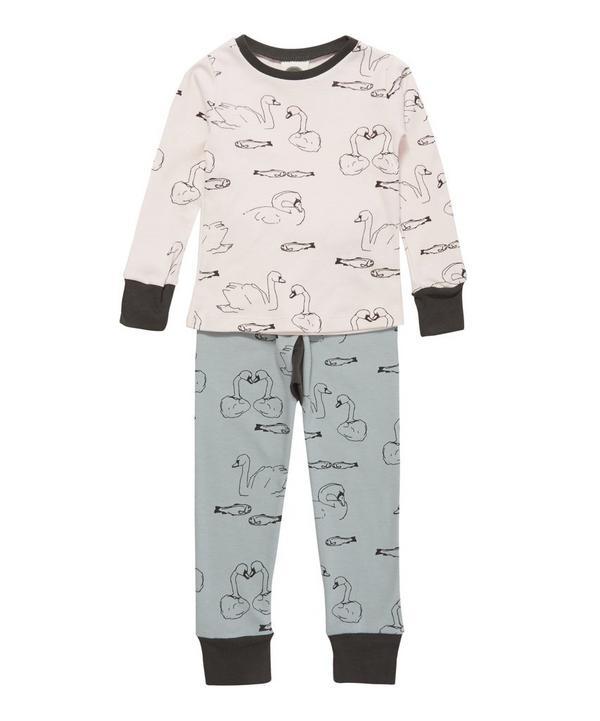 Slim Jyms Swimmers Double Print Pyjamas